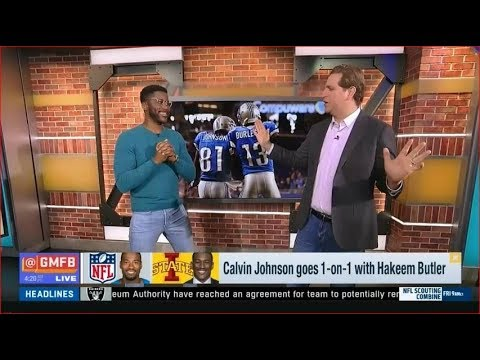 Calvin Johnson Goes 1-on-1 With Hakeem Butler