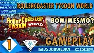 ROLLERCOASTER TYCOON WORLD #1 - SERÁ TÃO BOM QUANTO OS ANTERIORES? / PT-BR 1080p