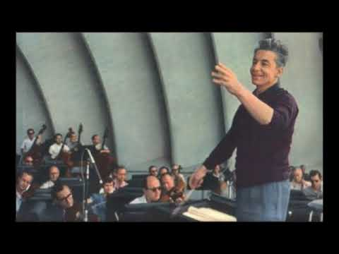 Ives The Unanswered Question - Karajan - Los Angeles Philharmonic (1959)