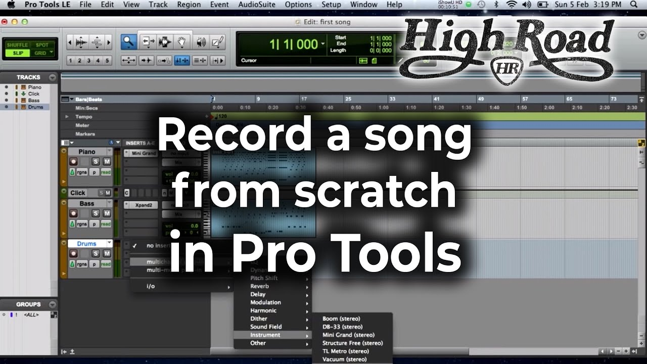 Pro tools for beginners tutorial part 6 basic editing youtube.
