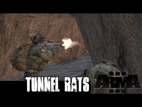 Tunnel Rats - ArmA 3 AiA Co-op Infantry Gameplay