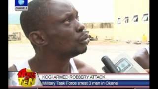 JTF arrest 3 armed robbers in Kogi