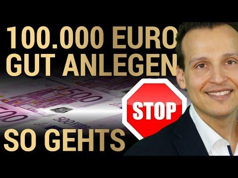 100 000 € richtig in Edelmetalle investieren!