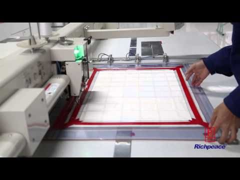 Richpeace Automatic Sewing Machine In Luolai Home Textile Company