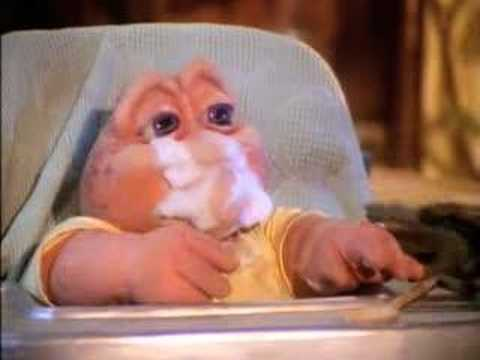 Dinosaurs: Baby Sinclair Has Too Much Sugar