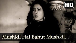 Mushkil hai bahut mushkil (hd) - mahal (1949) songs - madhubala - filmigaane - old hindi songs