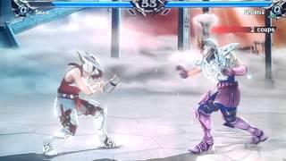 Soulcalibur V creations: Seiya VS Ikki