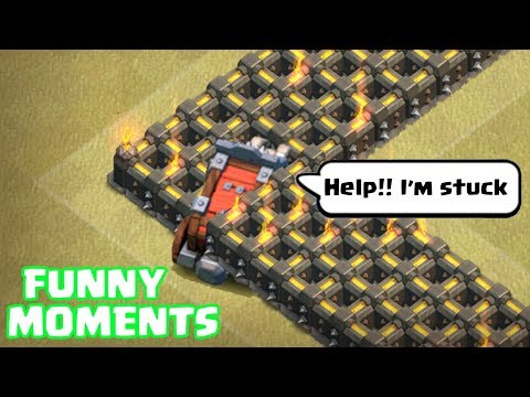 Clash of Clans Funny Moments Montage | COC Glitches, Fails, Wins, and Troll Compilation #28