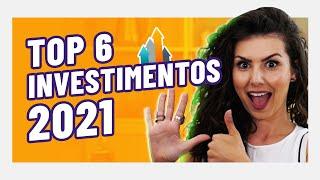 GANHE DINHEIRO EM 2021! TOP 6 INVESTIMENTOS DO ANO! De Tesouro a Bitcoins!