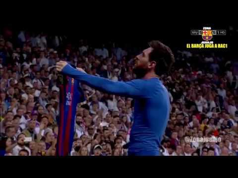 GOLAZO de Messi 2-3 Real Madrid vs FC Barcelona [La Liga][23/04/2017] EL BARÇA JUGA A RAC1