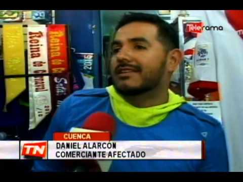 Comerciantes calle Gran Colombia exigen agilidad trabajos tranvía