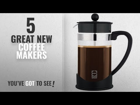 Top 10 Grosche Coffee Makers [2018]: GROSCHE Dresden Eco-Friendly French Press With German Glass