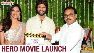 Vijay Deverakonda Hero Movie Launch | Malavika Mohanan | Anand Annamalai | Mythri Movie Makers