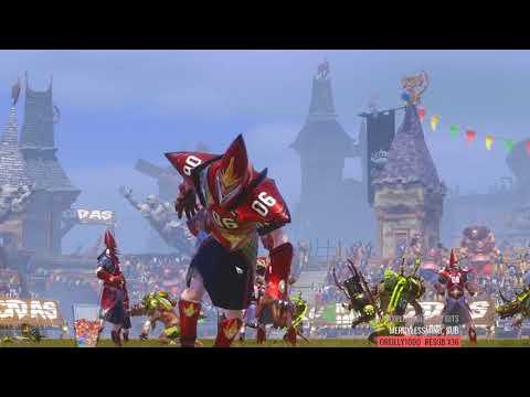 Twitch Blood Bowl Tourney Match: Skaven vs High Elves