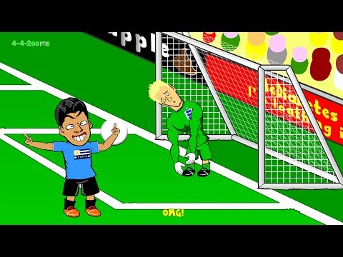 🇧🇷URUGUAY vs ENGLAND 2-1🇧🇷 by 442oons (Luis Suarez World Cup 2014 Cartoon 19.6.14) TRAILER