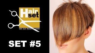 HAIR SET # 5 (креативное окрашивание, макияж, стрижка, Sebastian vs Lebel - GB, RU)(Пятый выпуск видео-журнала HAIR SET. 1. Креативное окрашивание волос техникой