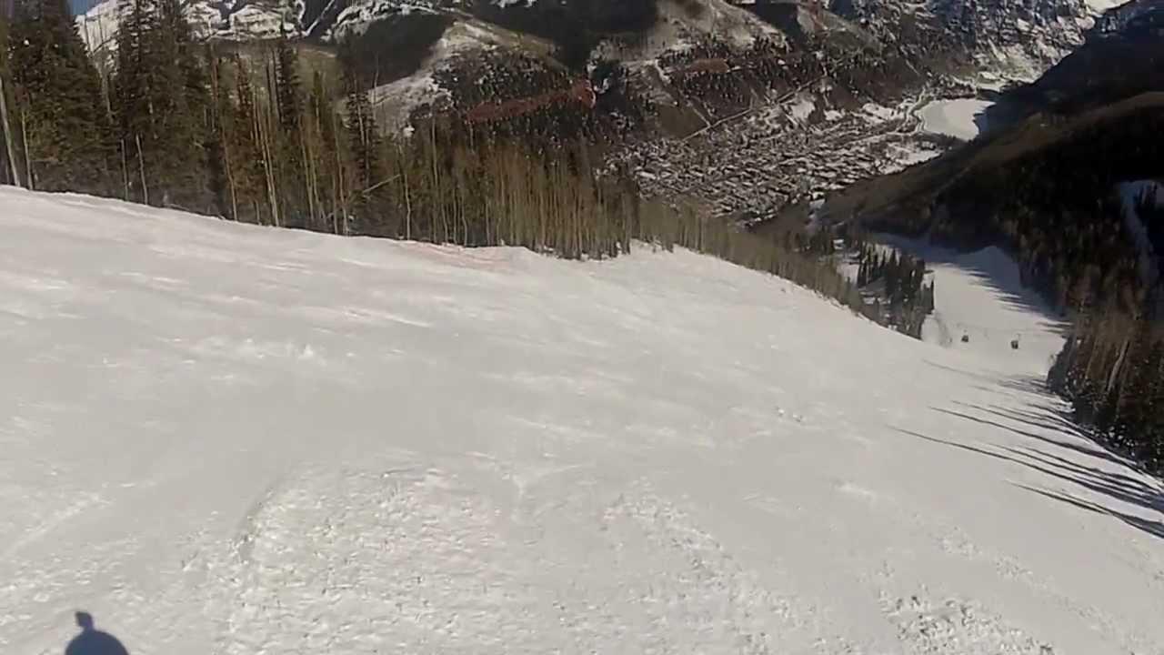 Milk Run Black Diamond Trail Telluride Ski Resort 2013 Feb