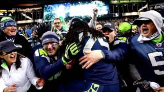 London fan flies hundreds of thousands of miles to follow the Seahawks VIDEO