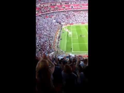 Blue Moon At Wembley FA Cup SemiFinal 2013 Manchester City Vs Chelsea.  14042013