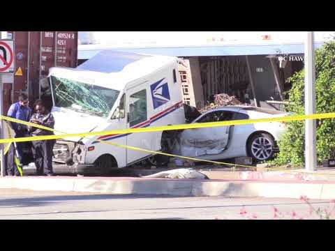 Commerce mail carrier fatal accident