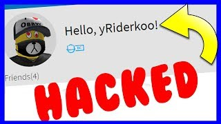 I HACKED MY RIDER ACCOUNT ON ROBLOX... 😈