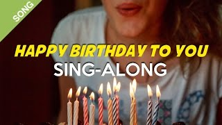 """Happy Birthday to you"" Song [Sing-Along] (cheerful version)"