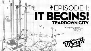 Saturday's Wrench Ep.01: Honda Cb350 Build - It Begins!