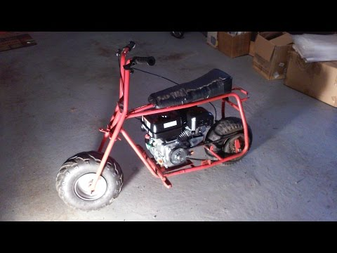 How to Build a Mini Bike- First Cheap Mini Bike Build