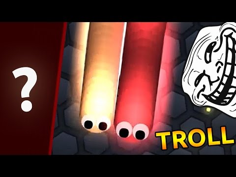 TROLLING PEOPLE IN SLITHERIO (Funny Moments)  | Slither.io