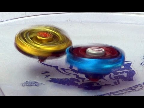 Beyblade WBBA 4D  Gold L Drago Destroy  Battle Series - Battle 4 Gold L Drago X Blue Wing Pegasis