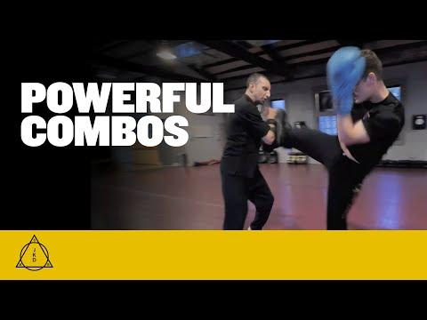 Powerful Combos - Training At NY Martial Arts Academy