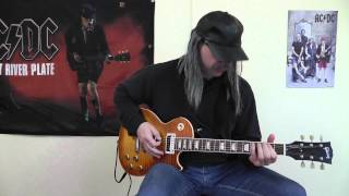 AC/DC - Spoiling For A Fight cover by RhythmGuitarX