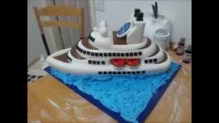 how to make a ship cake