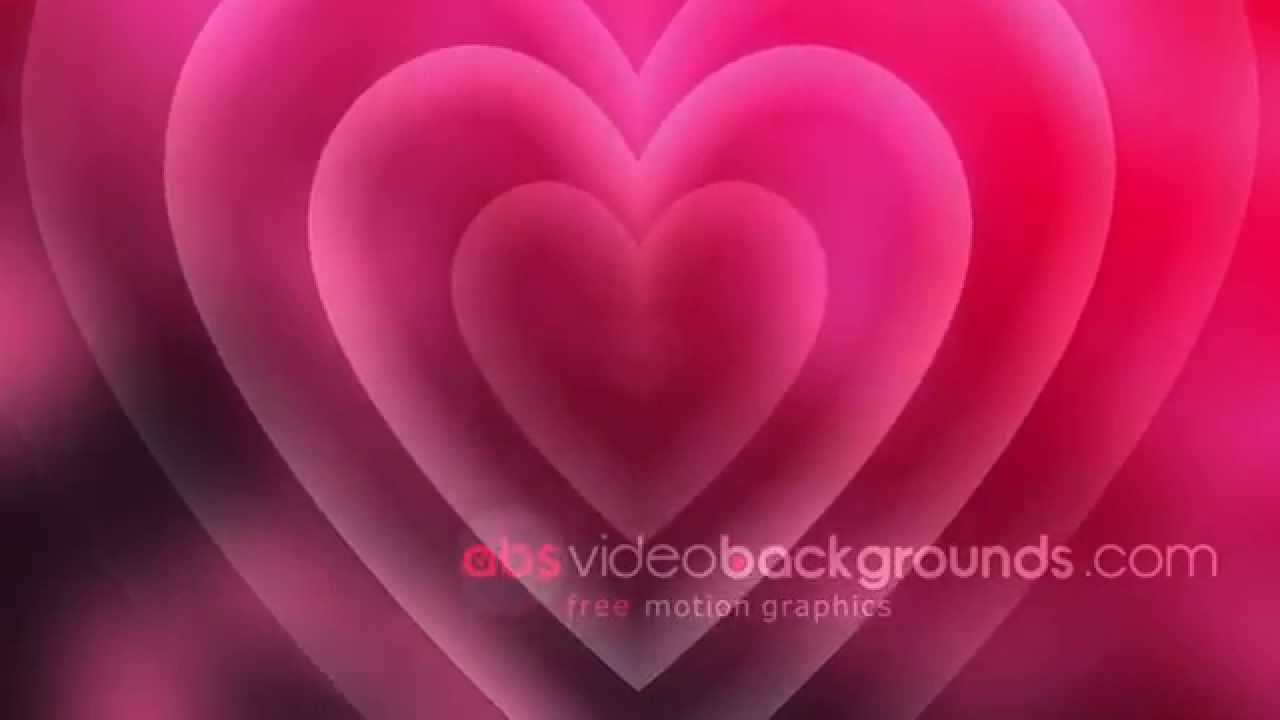 great loving heart - free wedding video background (full hd) - youtube