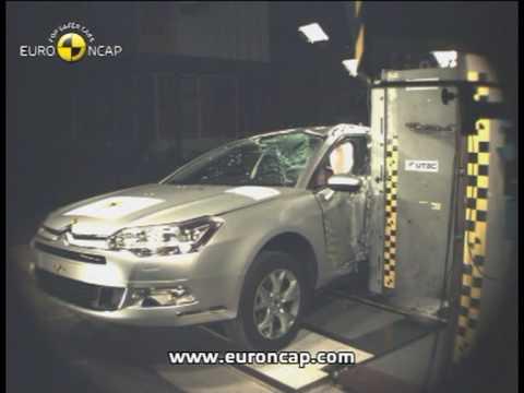 Euro NCAP | Citroen C5 | 2008 | Crash test