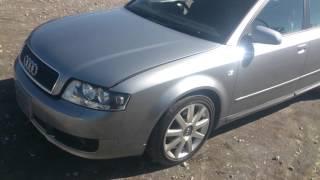 Видео-тест автомобиля Audi A4 (2.0, 2004, серебро)