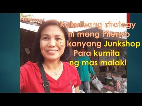 Ang kakaibang strategy ni mang Pilenyo sa kanyang Junkshop para kumita ng mas malaki