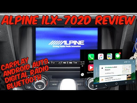 Alpine ILX-702d Full Review - DAB / Bluetooth / CarPlay / Android Auto