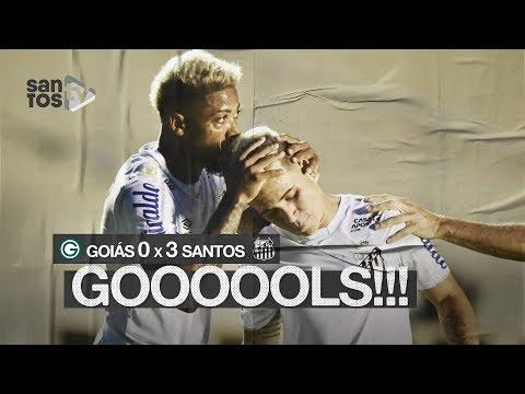 GOIÁS 0 X 3 SANTOS | GOLS | BRASILEIRÃO (09/11/19)