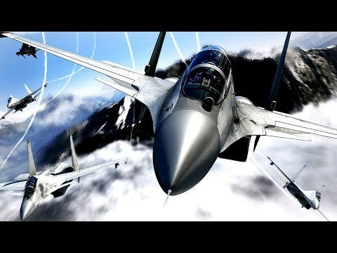 Top 5 Air Combat Games (PC) (XBOX) (PS) (Android)