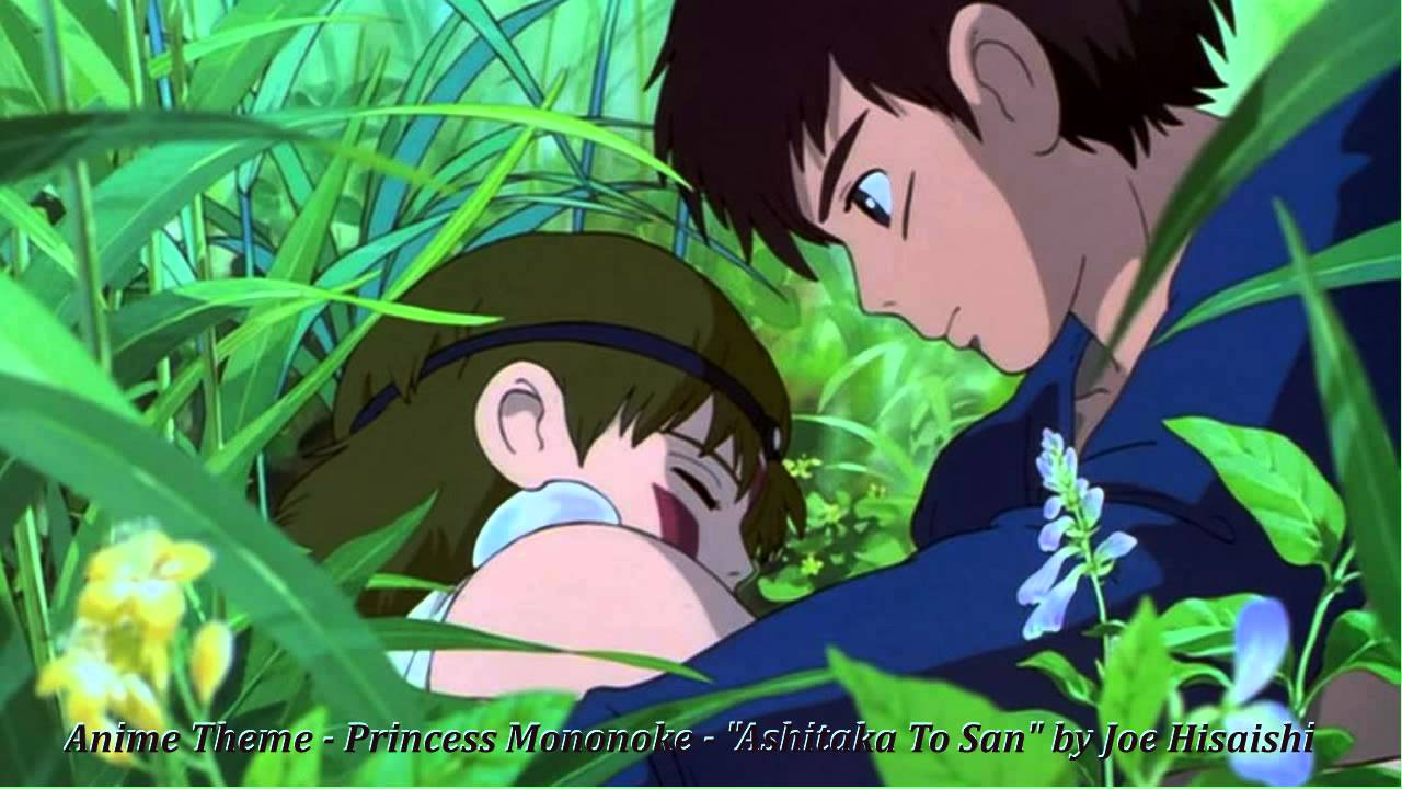 Anime Theme Princess Mononoke Ashitaka To San By Joe