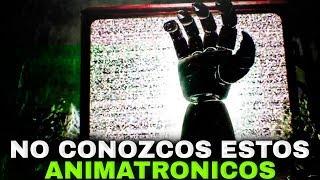 NO CONOZCO A ESTOS ANIMATRONICOS! SON NUEVOS! | FIVE NIGHTS AT FREDDY'S HALLOWEEN NOCHE #1
