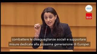 Intervento in Plenaria di Irene Inagli, presidente della Commissione economica al  Parlamento europeo,s ul regolamento del Recovery and Resilience Facility.