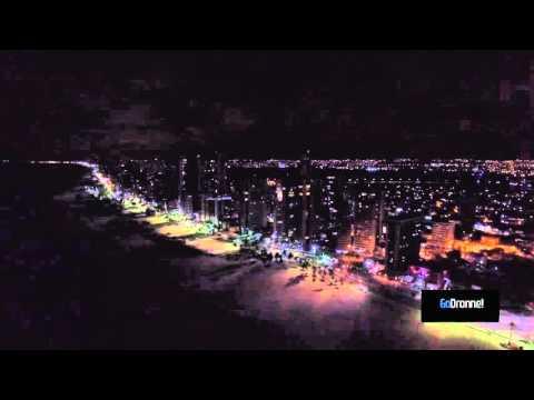 Boa Viagem imagens aéreas com drone Recife.