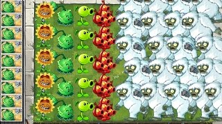 Repeat youtube video Plants vs. Zombies 2 Gameplay Yeti Attack!