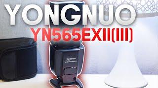 ÓTIMO FLASH CUSTO BENEFÍCIO - Yongnuo YN565EX II - Canon e Nikon - REVIEW & DICAS