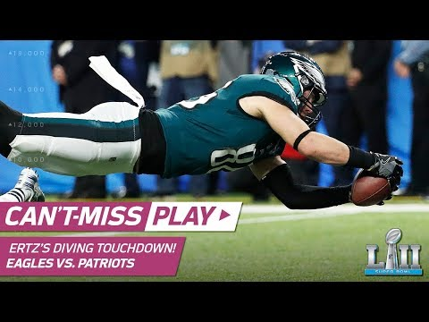 Nick Foles Hits Zach Ertz for the Go-Ahead TD! | Can't-Miss Play | Super Bowl LII NFL Highlights