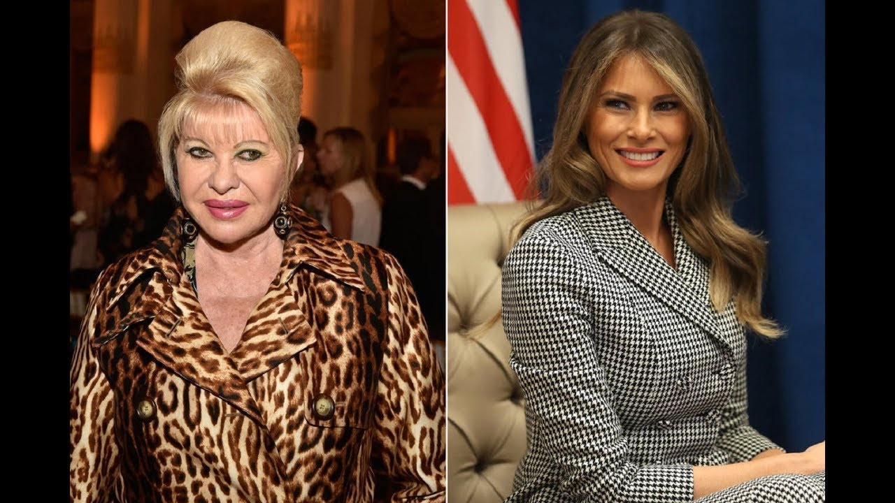 First Lady Melania Trump Claps Back to Ivana Trumps