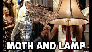 The Moth and Lamp meme (Romeo Juliet)