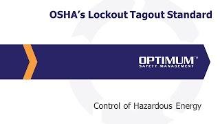 osha s lockout tagout standard full webinar